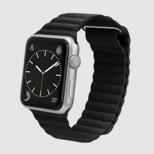 Casetify Apple Watch band in black